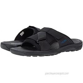 Rockport Men's Trail Technique Velcro Slide Sandal Black 12
