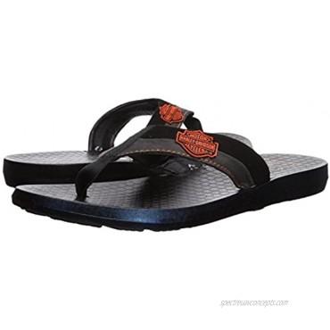 HARLEY-DAVIDSON FOOTWEAR Unisex-Adult Adams Flip-Flop