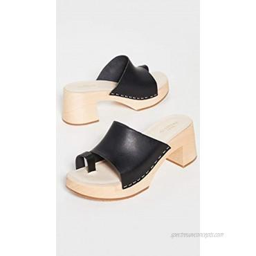 swedish hasbeens Women's Toe Strap Clogs