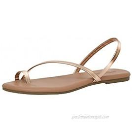 Cushionaire Women's Catalina toe ring Sandal with Memory Foam