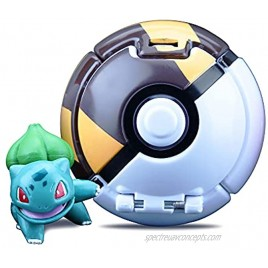 Action Figure Toy Set Include Colorful Poke-Ball and Realistic Action Monster Toy,Kids ToysBulbasaur