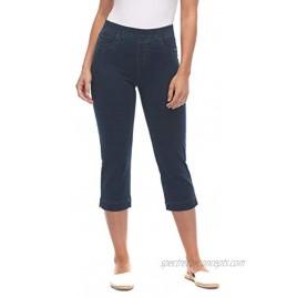 FDJ French Dressing Jeans Comfy Denim Pull on Capri