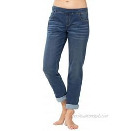 PajamaJeans Womens Stretch Jeans Boyfriend Loose Jeans for Women