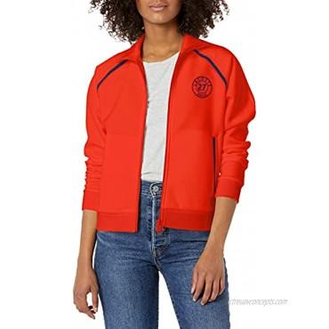 Lacoste Women's Long Sleeve Full Zip Vintage Badge Sweatshirt