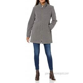 INTL d.e.t.a.i.l.s Women's Faux Wool Fashion Jacket