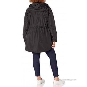 INTL d.e.t.a.i.l.s Women's Plus Size Midweight Pack-it-in-a-Pouch Vestee Jacket