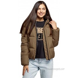 oodji Ultra Women's Hooded Quilted Jacket
