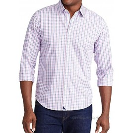 UNTUCKit Dolcetto Wrinkle Free Untucked Shirt for Men Long Sleeve Pink