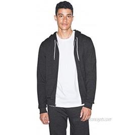 American Apparel Unisex Tri-blend Terry Long Sleeve Zip Hoodie