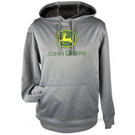 John Deere Western Sweatshirt Men Hoodie Logo Kangaroo Pocket 14470000
