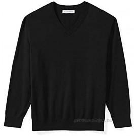 Essentials Men's Big and Tall V-neck Sweater
