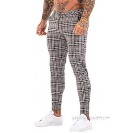 GINGTTO Mens Casual Pants Slim Fit Stretch Pants for Men