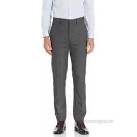 Haggar Men's Stretch Windowpane Slim Premium Flex Suit Separate Pant