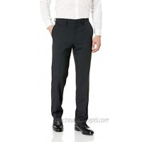 Haggar Men's Travel Performance Twill Tailored Fit Suit Separate Pant