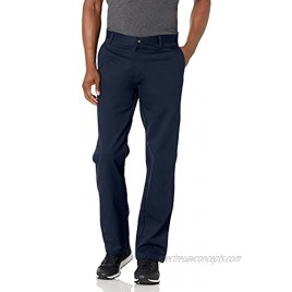 IZOD Young Men's Classic Fit Flat Front Twill Pant