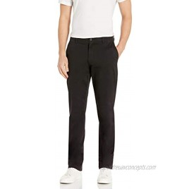 Goodthreads Men's Straight-Fit Washed Comfort Stretch Chino Pant Black 34W x 32L