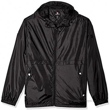 Southpole mens Water Resistance Hooded Windbreaker Jacket