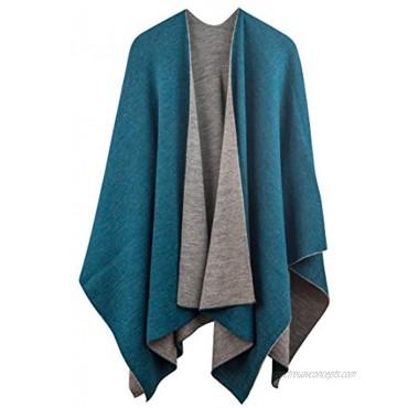 Rugged Andes Trading Company 100% Baby Alpaca Wool Ruana Wrap