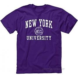 Ivysport Short Sleeve T-Shirt 100% Cotton Heritage Logo Color NCAA Colleges