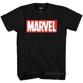 Marvel Men's Comics Simple Classic Logo T-Shirt