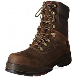 WOLVERINE Men's Cabor Waterproof 8 Boot-M Dark Brown 7 M US
