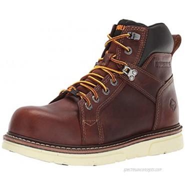 WOLVERINE Men's I-90 DuraShocks 6 Wedge Industrial Shoe